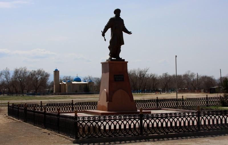 The monument  for Kebekbay shehene in village Otar.