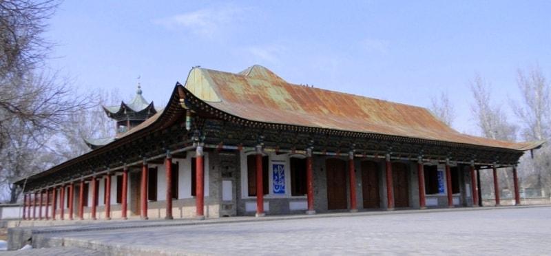 Zharkent Mosque.