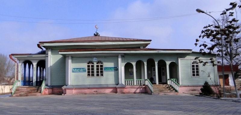 Old city mosque Zharken.