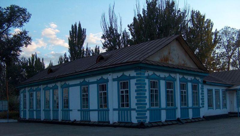 Building of the beginning of XX century in Zharkent.