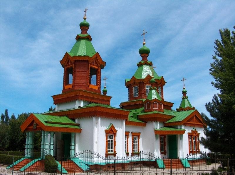 Жаркентский храм.