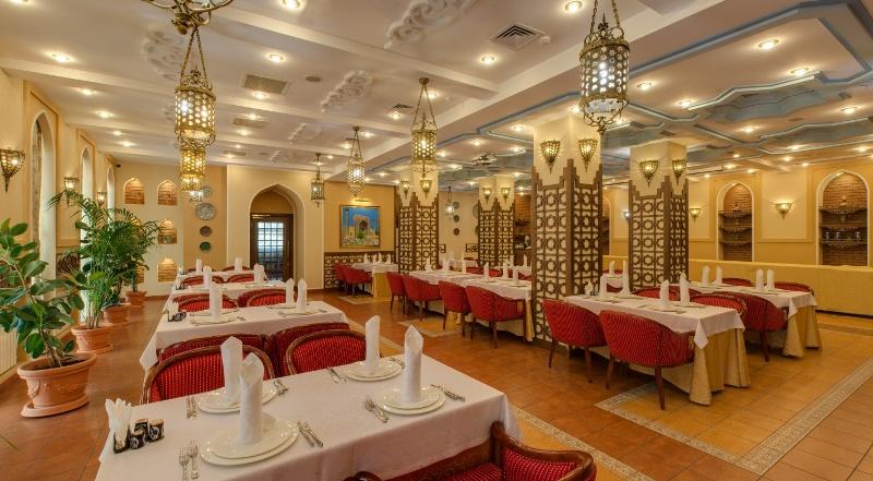 """Restaurant """"Fergana""""."""
