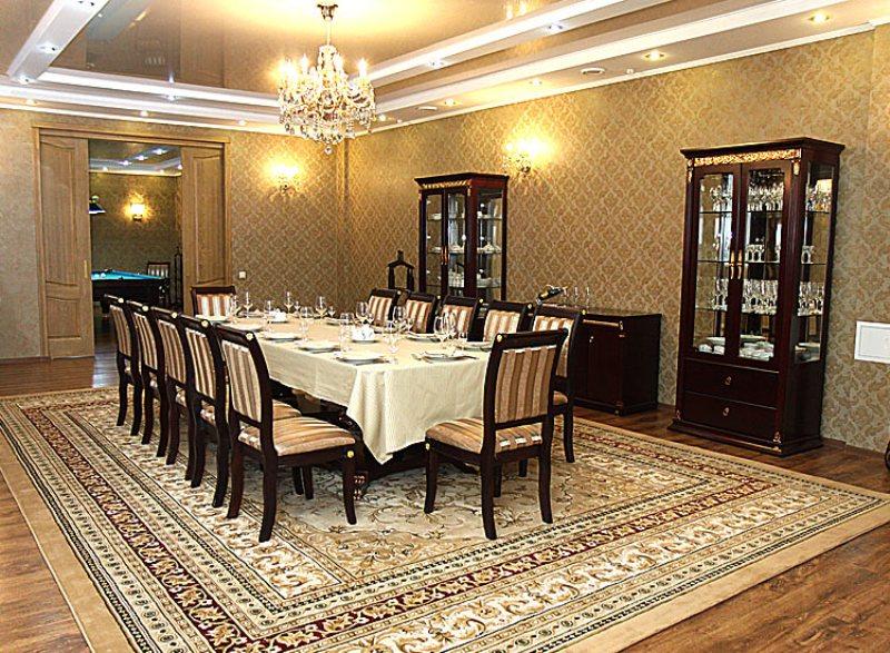 VIP restaurant.