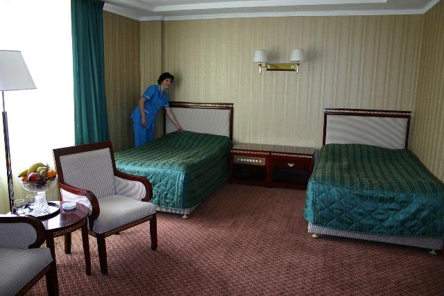 Deluxe twin room.