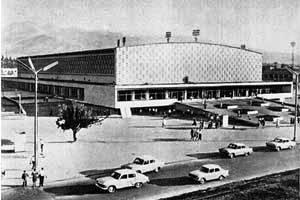 Дворец спорта имени Балуана Шолака в Алматы.