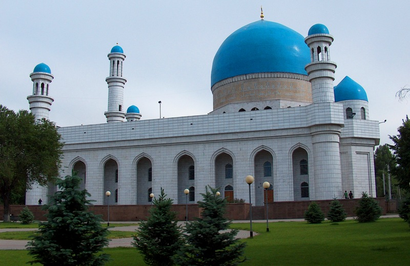 Central mosque in Almaty.