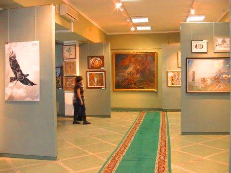 Museum of Modern Art of Astana.