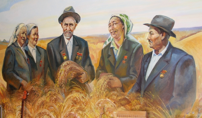 The Museum of history of rice of named after Ybray Zhakhaev.