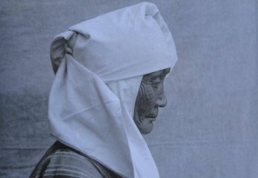Национальный головной убор женщины казашки.