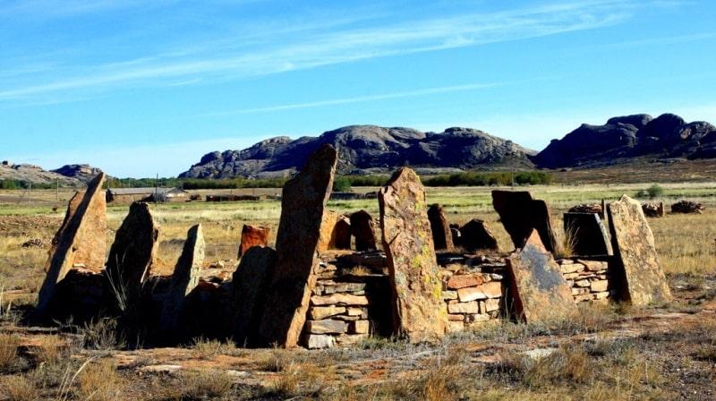Necropolis Begazy.