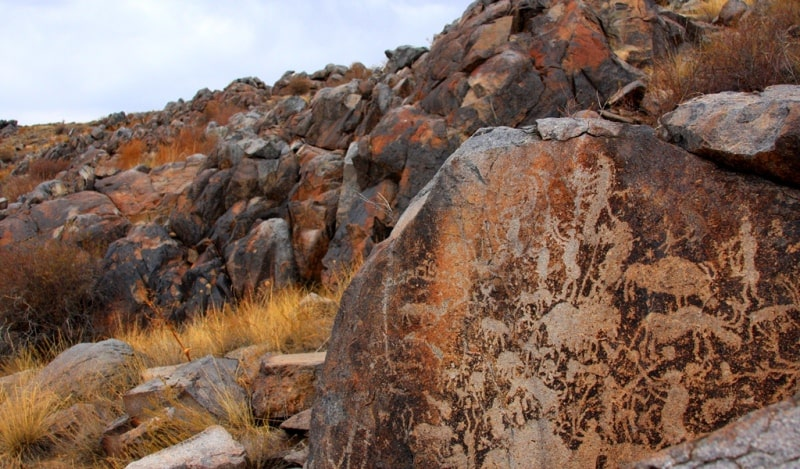 The petroglyphs of Shunak.
