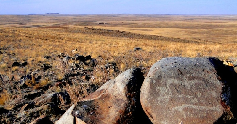 The petroglyphs of Zyngyrtas.