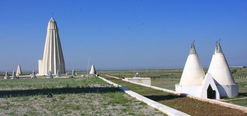 Monument of East Kazakhstan.