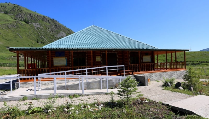 Memorial estate Berel and environs.