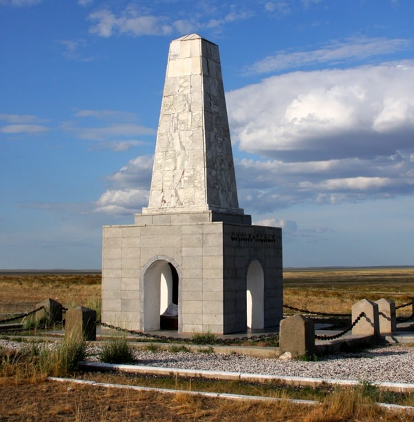 The monument of Enlik and Kebek