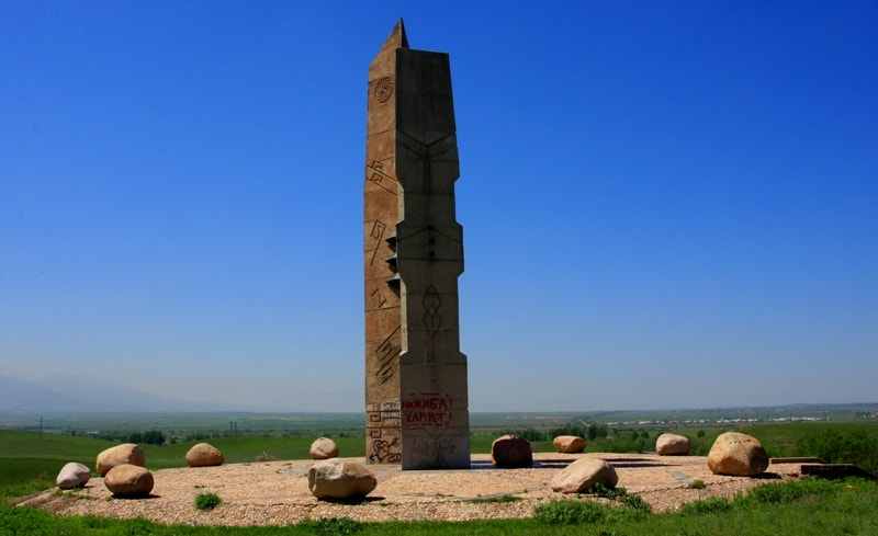 Monument for Anrakhay battle.