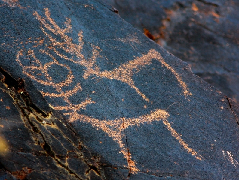 Dardamty petroglyphs.