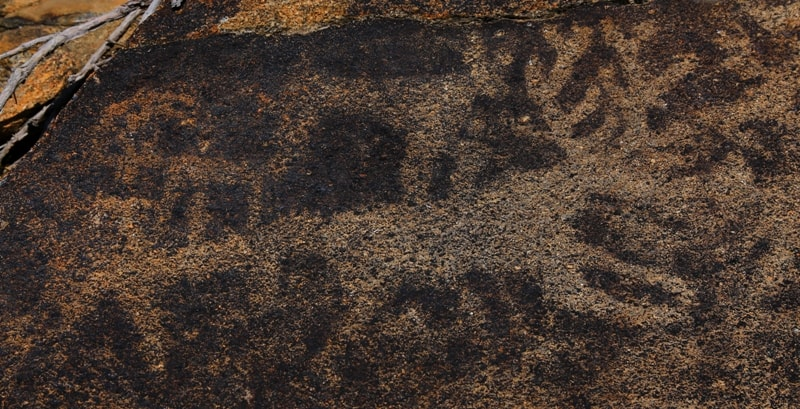 Petroglyphs of Almaty region.