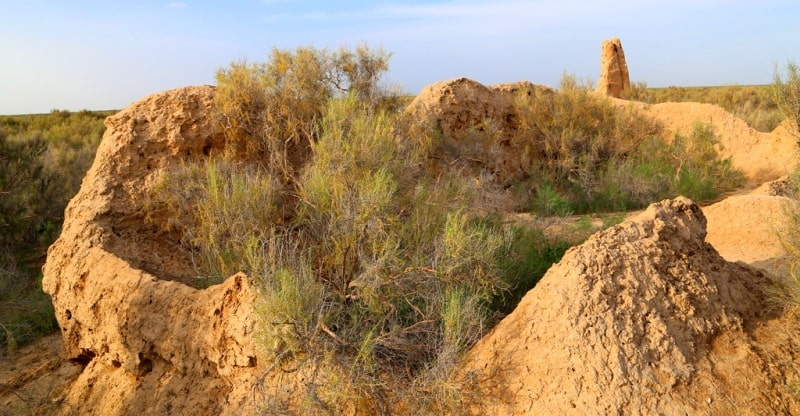 The ancient settlement of Dzhend.