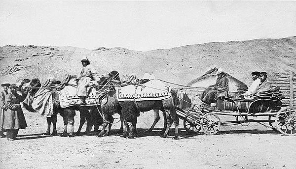 Алтай. Фотография Лидии Полторацкой. 1870 год