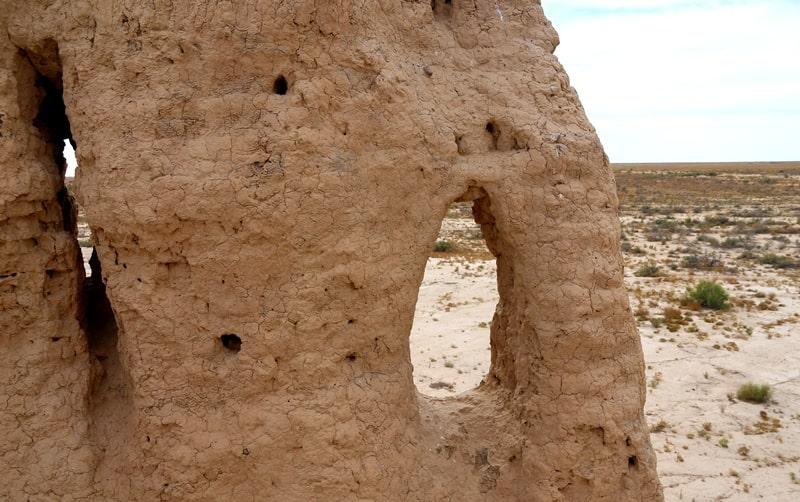 Древние городища Джеты-Асарской культуры. Кызылординскаяя область.