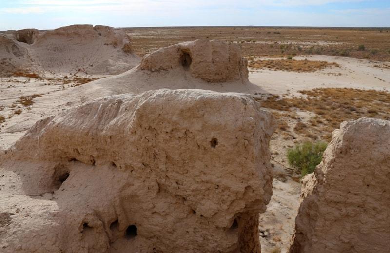 Kishi Kos Asar ancient settlement.