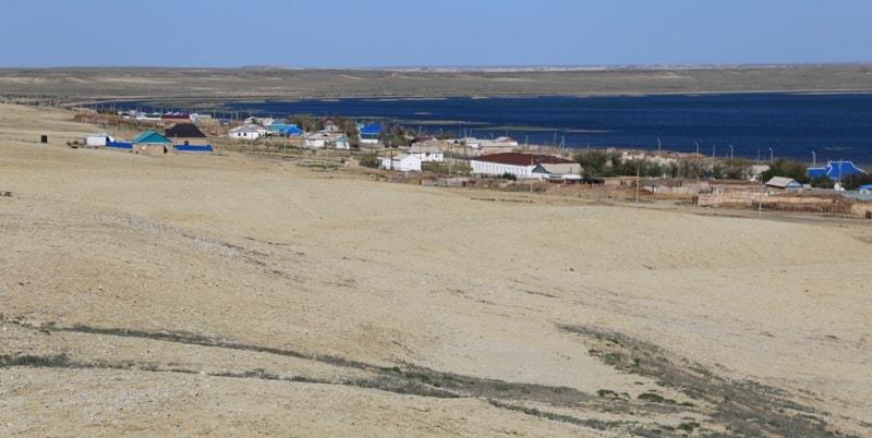Поселок Раим на берегу озера Раимколь. Май, 2018 года.