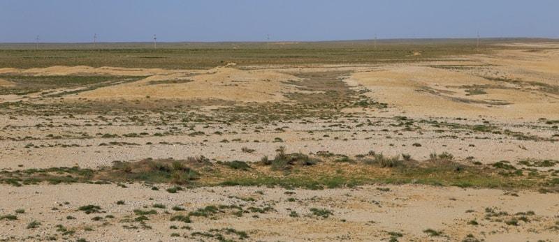 Остатки развалин укрепления Раим. Май, 2018 года.
