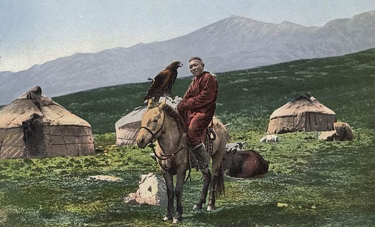Life of the Kazakhs. Kazakhstan Altai. Photos of Borisov Sergey Ivanovich. The beginning of the XX century.