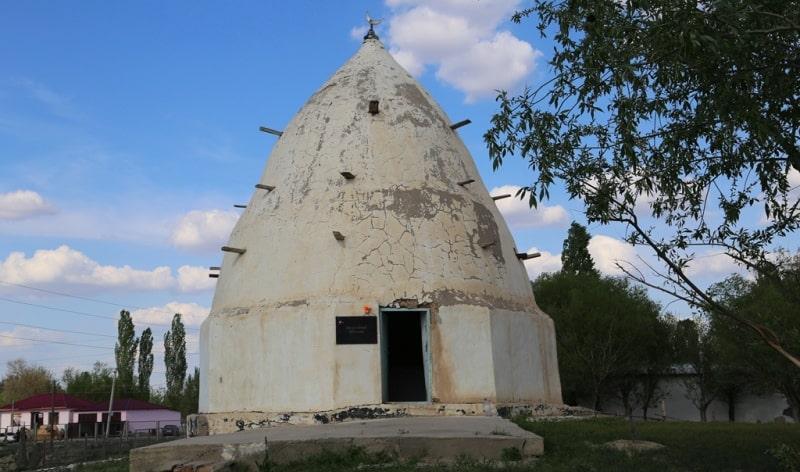 Azhe-Ata Mausoleum in Sozak.