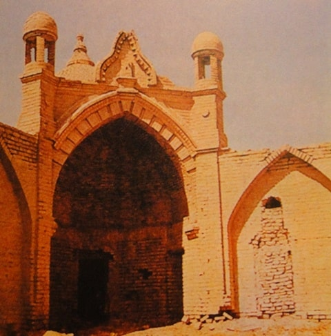 Baba Ata Madrasah. Photo of the 80s of the XX century.