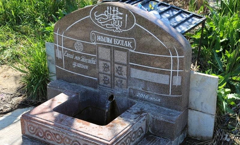 Баба Тукты Шашты Азиз мавзолей и его окрестности.