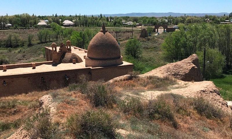 Городище Баба Ата.