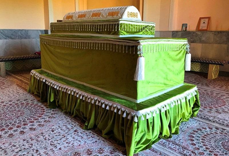 Baidibek-Ata Mausoleum.