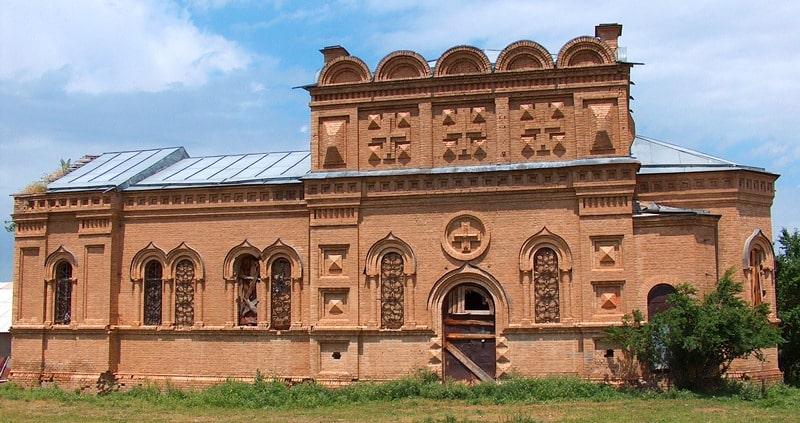Церковь в Каскасу.