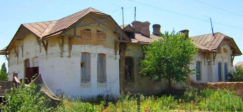 Residential building № 10 in Arys.