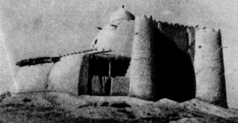 Мазар Имам Маркози. Фотография начала XX века.