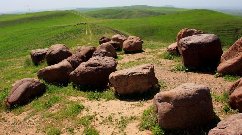 Окрестности перевала Казугрт.