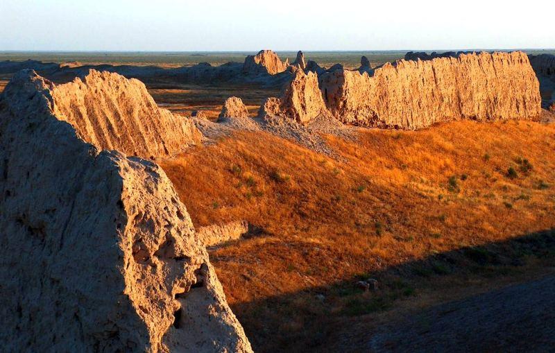 Site of ancient settlement of Sauran.
