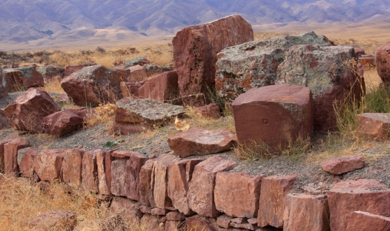 Развалины Акыртаса.