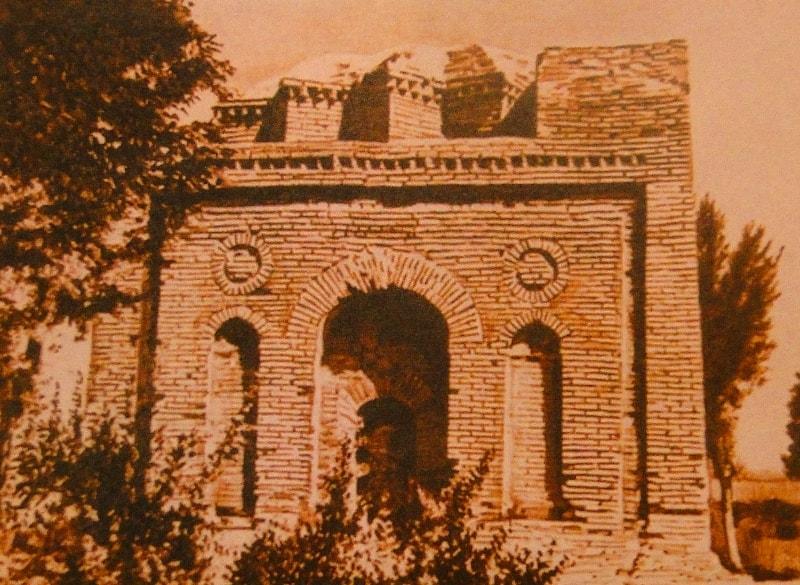 Мавзолей Бабаджи-хатун. Фотография 80-ых годов, XX века.