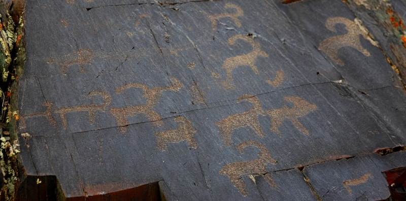 Kulzhabasy petroglyphs.