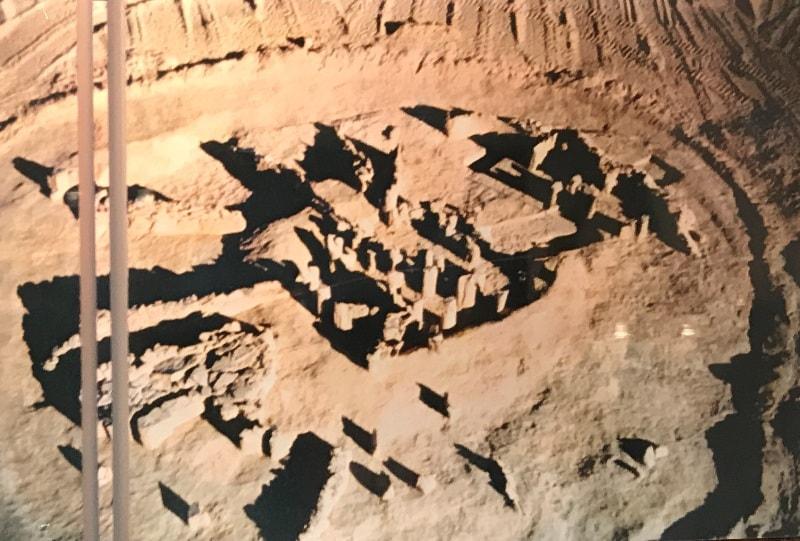 Araltobe burial mound.