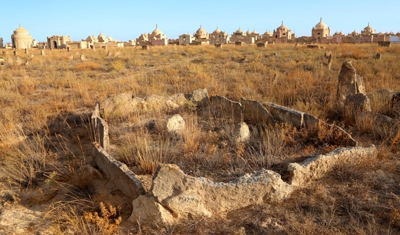 Kashkar-ata necropolis.