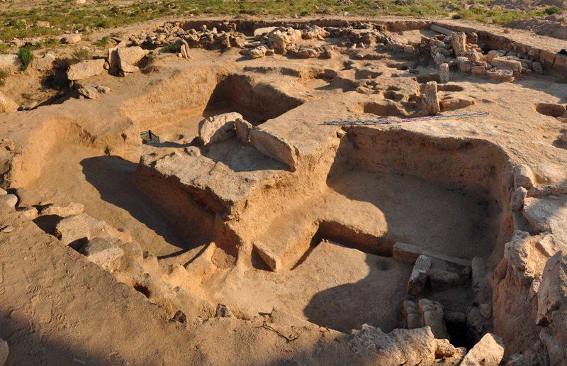 Археологические раскопки на городище Кетиккала.