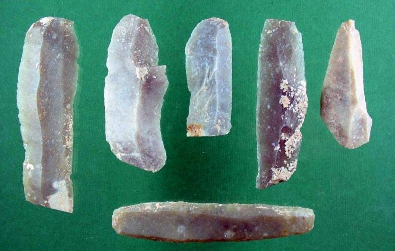 Артефакты найденные при раскопках на поселении Кос-Кудук.