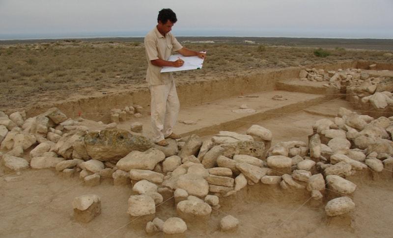 Раскопки на поселении Кос-Кудук.