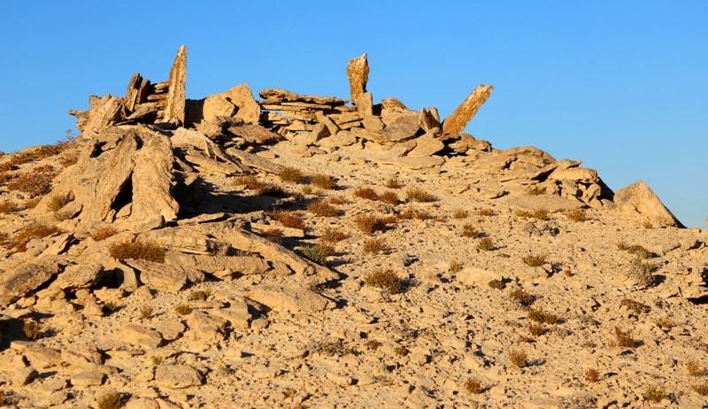 Охотничьи араны на Мангышлаке.
