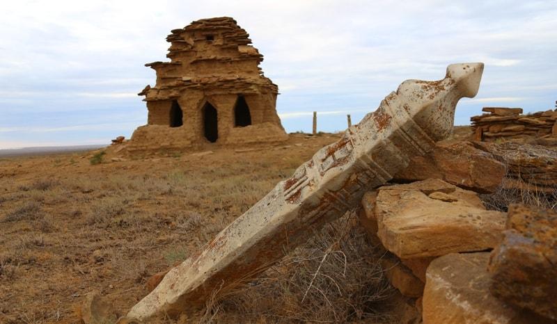 Уштасы на юге Актюбинской области.