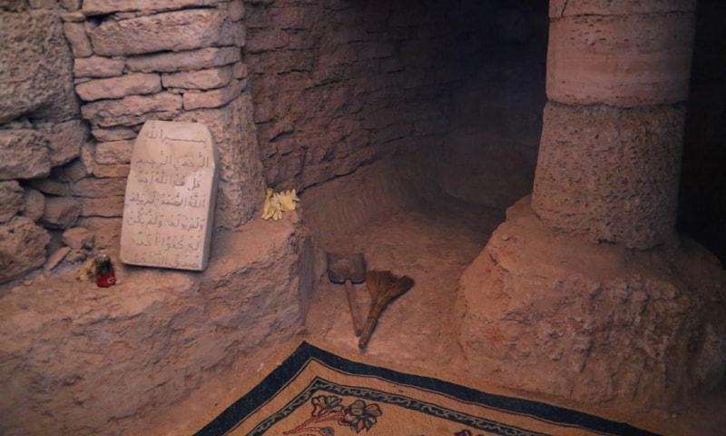 Подземная мечеть Султан-епе.